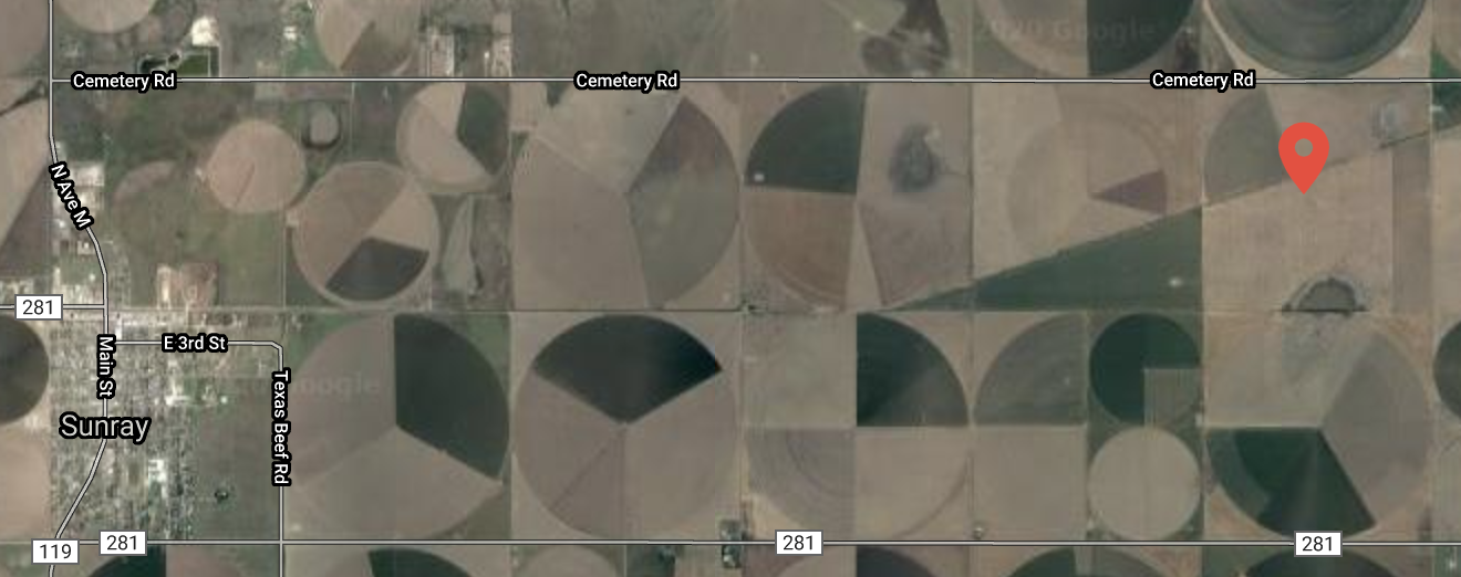 Sunray satellite images