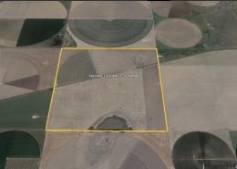 satellite image of farm