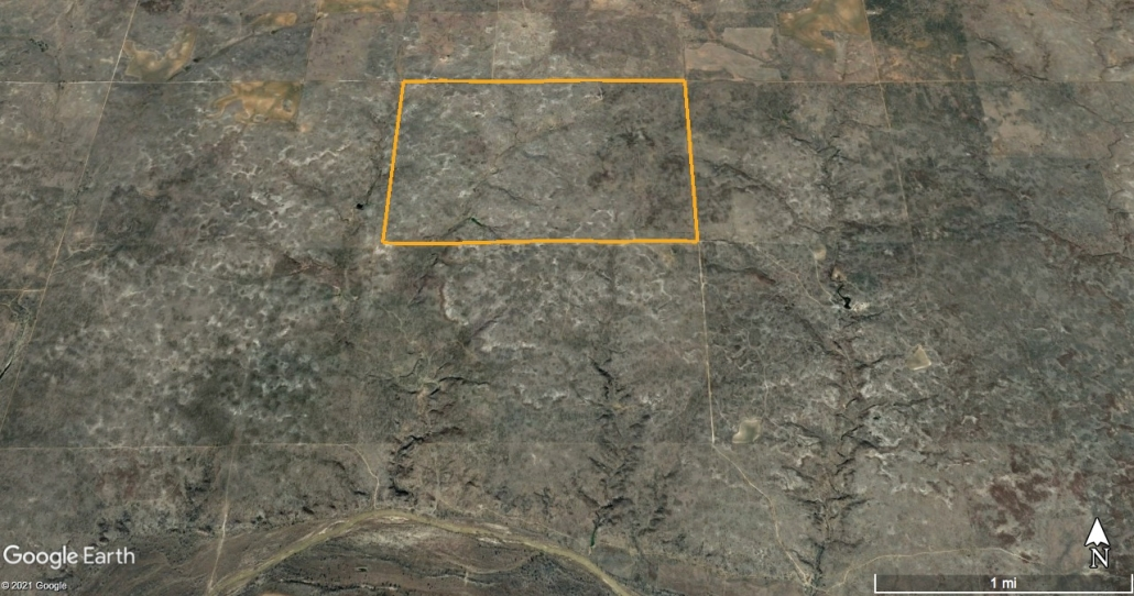 Bob Glenn Ranch Satellite Image
